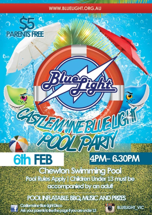 PoolPartyFlyer_Castlemaine_2015