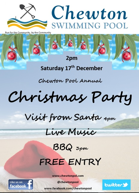 chewton-pool-christmas-party-poster